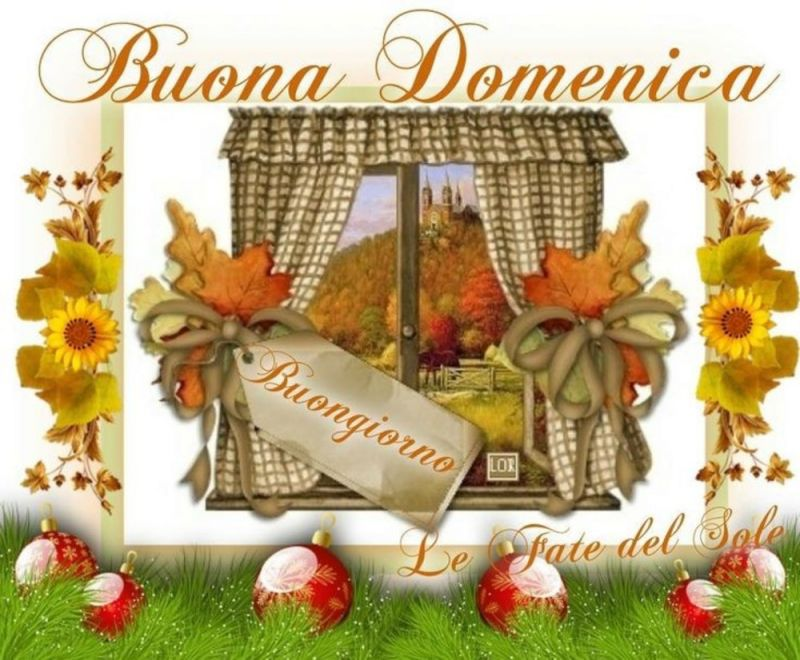 Buona Domenica E Benvenuto Autunno Su Window On The World